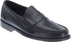 04e9a531f15 Men s Sebago Heritage Penny Loafer - Black Waxy Oiled Full Grain Leather  Penny Loafers
