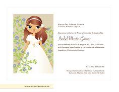 1000 images about tarjetas on pinterest baptism - Como hacer tarjetas para comunion ...
