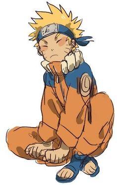 The handsome Naruto is Pouting... #Uzumaki Naruto