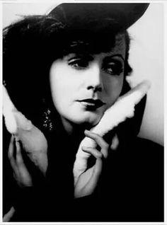 "1930 "" Romance "" Greta Garbo by George Hurrell"