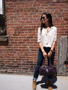 Luna Tieu from the Red Trousers shows you how accessories are a fun and inexpensive way of updating your outfit.