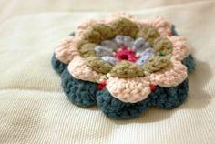 Sort of pink.: Crochet