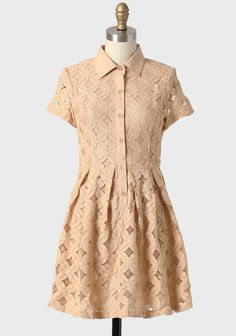 Modern Lace Collared Dress 42.99 at