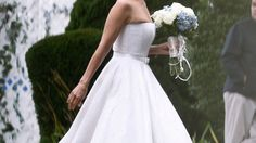 Brides Show Short Wedding Gowns More of the Love Short Wedding Gowns, Wedding Dresses, Latest Health News, One Shoulder Wedding Dress, Brides, Weddings, Fashion, Short Bridal Dresses, Bride Gowns