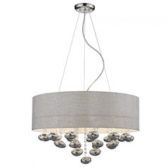 Lush ceiling light fixture for a modern home