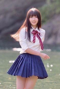 Japanese School Uniform Girl, School Girl Japan, School Uniform Girls, Japan Girl, Cute Asian Girls, Cute Girls, Cool Girl, Beautiful Japanese Girl, Beautiful Asian Girls