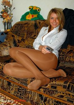 Pantyhose On Tv 69