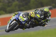 Phillip Island Sunday,Race. Fighting with Cal Crutchlow and Alvaro Bautista for the podium.