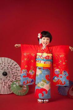 99b8d513c Fantasias de Carnaval Infantil  70+ Modelos   Fotos! Quimono Japonês