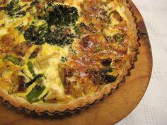 Con brocoli, dos recetas de tartas: una combinada con repollitos de Bruselas, y la otra, con caballa - Blogs lanacion.com