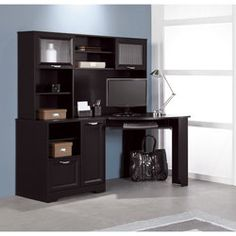 1000 images about office room on pinterest corner desk espresso and convertible - Magellan collection corner workstation ...
