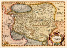 Persia Antwerp, Platin 1574-75 Ortelius, Abraham