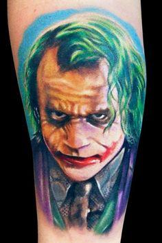 joker #tattoo