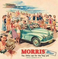 Morris Minor convertible AD