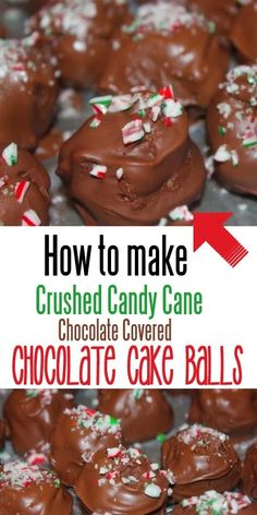 A Fine Feed: How to make crushed candy cane chocolate covered c...