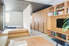 MoreDesignOffice design the Folding Apartment, a stylish compact loft in Shanghai Architects:MoreDesignOffice Location:Shanghai, China Year: 2014 Area: 538 ft²/ 50 m² Photo courtesy:Raphael Olivier Description: The Folded Apartment: How to make 50 sqm (538 sqft) feel greater than it is? Finding a reasonable flat in the focal point of any city is extremely troublesome. Typically …