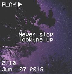 M O O N V E I N S 1 0 1 #vhs #aesthetic #purple #quote #stars #trees #star #tree #black #sky #night