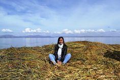 Isla de los Uros, Puno, Peru, South America