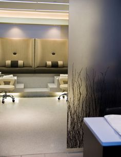 Spa colors and decorating