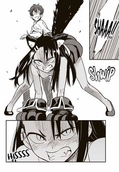 Read Please dont bully me, Nagatoro Chapter Nope, This Is Senpais Drawing - Nagatoro is a freshman girl in high school who loves bullying her Senpai. Manga Anime, Anime Neko, Kawaii Anime Girl, Manga Girl, Anime Girls, Anime Monsters, Fan Art, Manga Comics, Furry Art