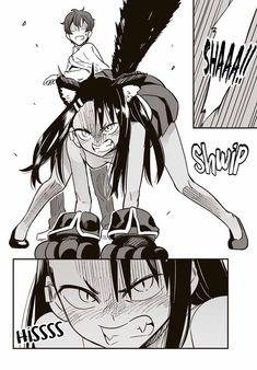 Read Please dont bully me, Nagatoro Chapter Nope, This Is Senpais Drawing - Nagatoro is a freshman girl in high school who loves bullying her Senpai. Manga Anime, Anime Neko, Kawaii Anime Girl, Manga Girl, Anime Girls, Anime Art, Anime Monsters, Fan Art, Manga Comics