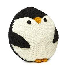 Penguin Pillow, quién se va a poner a tejer para hacérmelo???