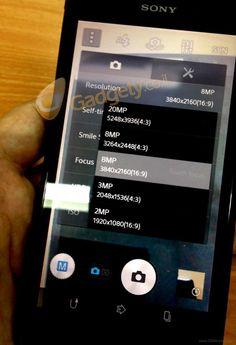 New Sony Honami photo surfaces, shows camera UI - AndroRat