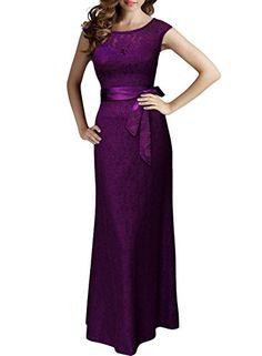 Miusol® Women's Elegant Sleeveless Halter Black Lace Bridesmaid Maxi Dress (3192) (Small, Purple) Miusol http://www.amazon.ca/dp/B0152ZRSYS/ref=cm_sw_r_pi_dp_kB.Pwb1KSX2WM