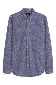 Shirt in premium cotton
