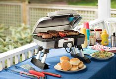 6 Best Outdoor Electric Grills of 2020 (Reviewed & Rated) - The Online Grill Best Outdoor Electric Grill, Indoor Outdoor Grill, Electric Grills, Outdoor Cooking, Patio Grill, Grill Area, Grilled Meat, Grilled Chicken, Cooking With Charcoal
