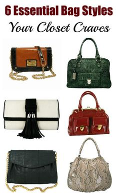 Less is More: The Six Essential Handbags Every Closet Craves | Mel Boteri