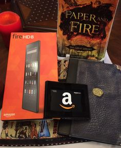 http://gvwy.io/v6fw3lf  FIRE Giveaway for Paper and Fire release   Includes:  Kindle Fire 8HD  Paper & Fire Skinit Cover  Custom Kindle Book Cover  $100 Amazon Gift Card  Gift e-copy of Paper and Fire