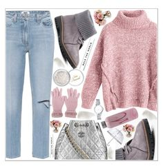 """""""style"""" by lena-volodivchyk ❤ liked on Polyvore featuring Paige Denim, Boohoo, Chanel, Blugirl, Gourmet Home, Too Faced Cosmetics, Fulton and BBrowBar"""