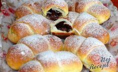 Desať receptov na plnené rožteky - Žena SME Slovak Recipes, Czech Recipes, Russian Recipes, Sweet Desserts, Sweet Recipes, Cake Recipes, Sweet Pastries, Bread And Pastries, Bread Dough Recipe