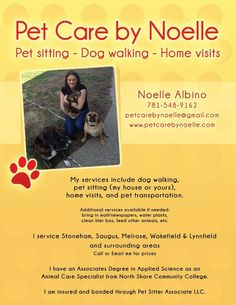 Dog Walker Profile Example