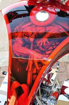 Spiderman Gas Tank