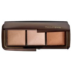 New at #Sephora: Hourglass Ambient Lighting Powder Wardrobe. A limited-edition palette featuring three shades of Ambient Lighting Powder, the high-tech, soft-focus finishing powder that features state-of-the-art technology to recreate the most exquisitely flattering types of light. #makeup #luminizer