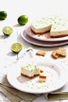 Lime Cheesecake by Siba… from Siba's Table with some experimental ideas about the crust