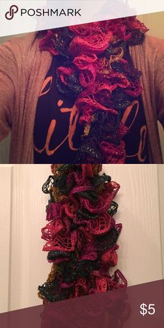 Scarf Multi colored scarf. Perfect for fall 🍂 Accessories Scarves & Wraps
