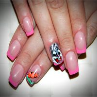 Bugs Bunny nails