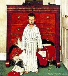 Norman Rockwell ~ Christmas ~ I love this one!!