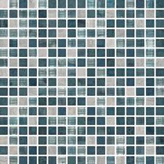 Portobello - Linha: Artesanal - Parede - Mosaico - imagem MIX TURQUOISE TEL 1,5X1,5 32X32 - Código de Referência: 21848ET
