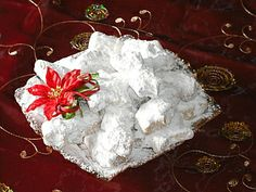 Authentic Greek Recipes: Traditional Greek Christmas Sweets - Kourambiedes