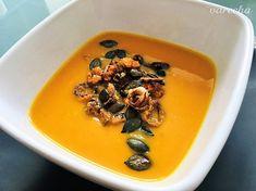 Krémová polievka z pečených batatov - recept | Varecha.sk Soup, Soups