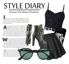 """"" by daria0151212 on Polyvore featuring мода, Lipsy, Luichiny и Ray-Ban"