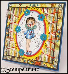 Stempeltruhe's Blog: *Fairysale-Faschings-Geburtstagskarte*