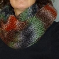 Knitting: Chunky Cowl, easy peasy!