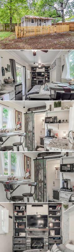 Nashville tiny house (175 sq ft)