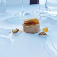 A sweet and savoury pre-dessert from Torre del Saracino - a liquorice and provolone cheese number Provolone Cheese, Panna Cotta, Number, Ethnic Recipes, Sweet, Desserts, Travel, Instagram, Food