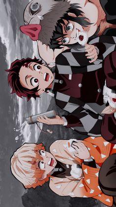 Anime Wallpaper Phone, Cool Anime Wallpapers, Animes Wallpapers, Haikyuu Anime, Anime Chibi, Kawaii Anime, Demon Slayer, Slayer Anime, Anime Films